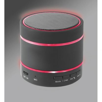 altavoz bluetooth luz led tarjetassd bateria litio