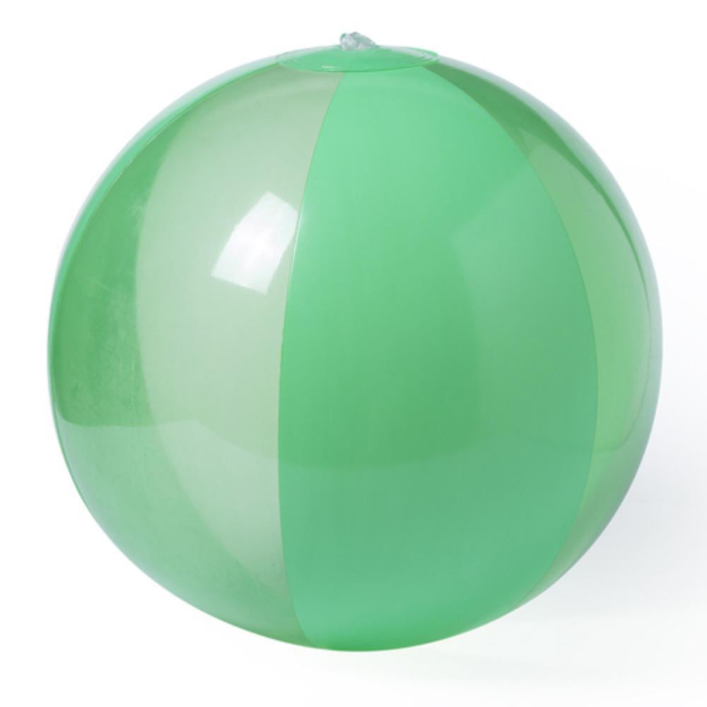 balon plastico colores playa
