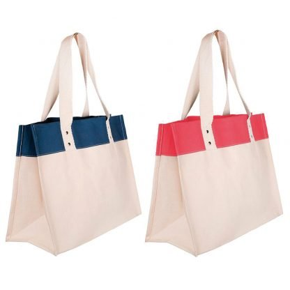 bolsa playa canvas asas largas