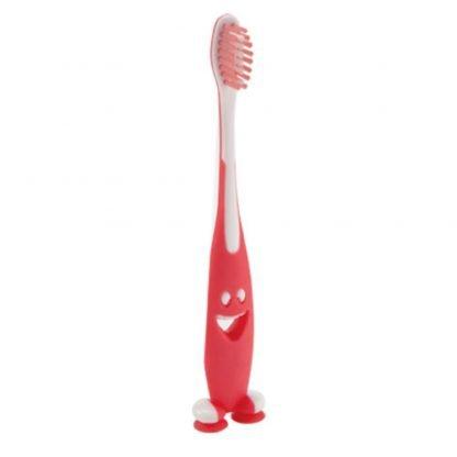 cepillo dientes sonrisa rojo azul naranja