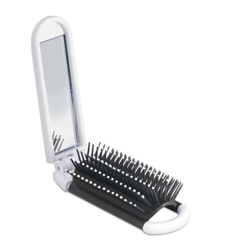 cepillo espejo rectangular plastico