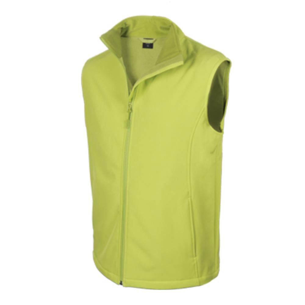 chaleco softshell poliester elastano colores