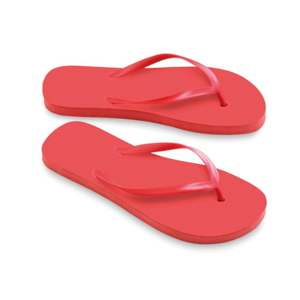 chanclas playa tiras pvc