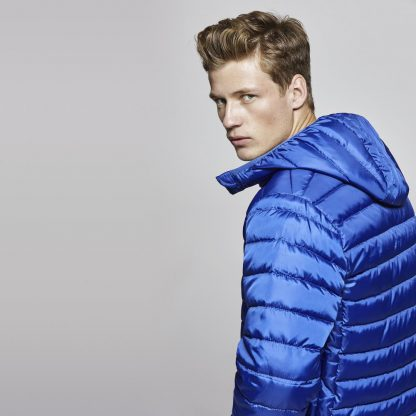 chaqueta acolchada promocional hombre