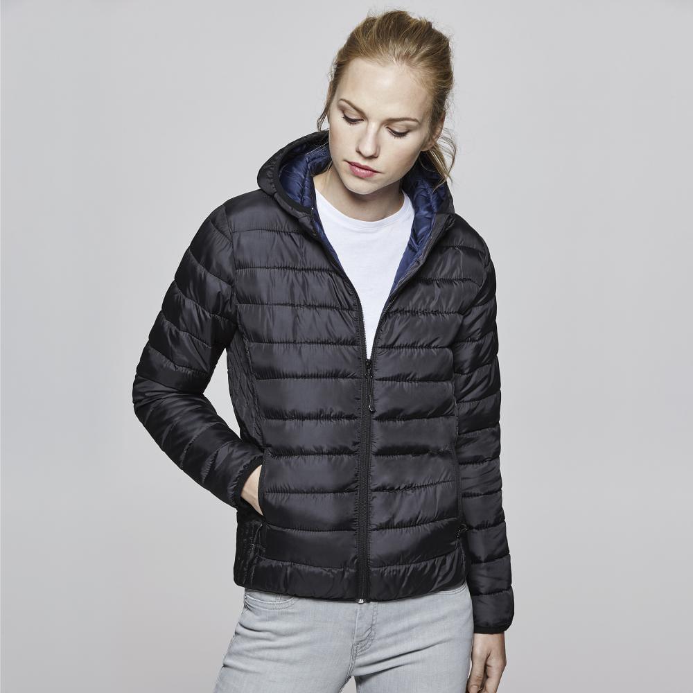 chaqueta acolchada promocional mujer