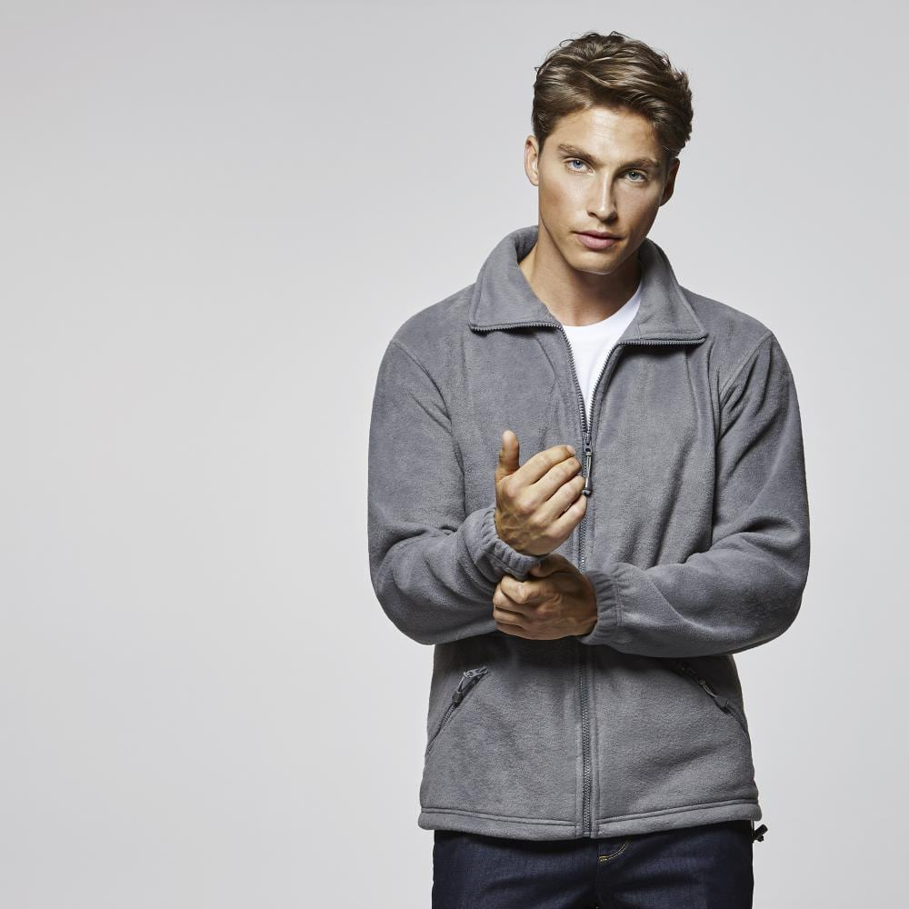 chaqueta polar publicitaria hombre barata