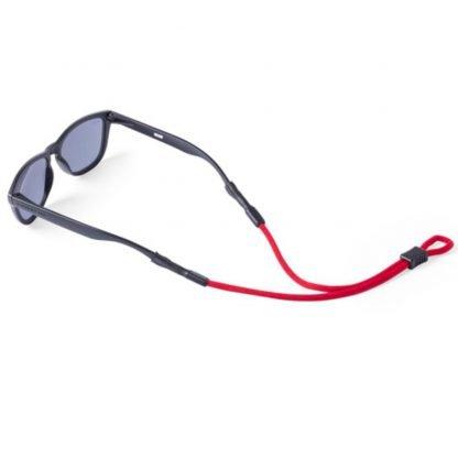 cinta gafas poliester rojo azul verde negro