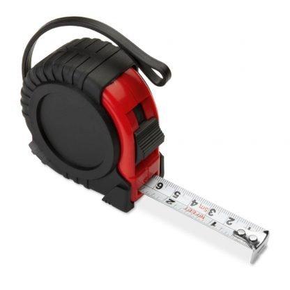 cinta metrica metros rojo
