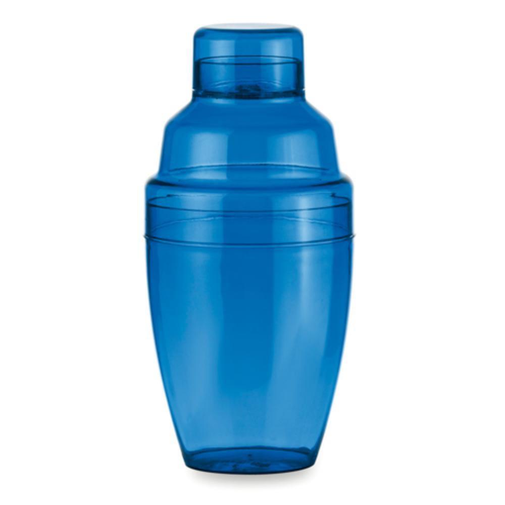 coctelera plastico ml roja gris azul
