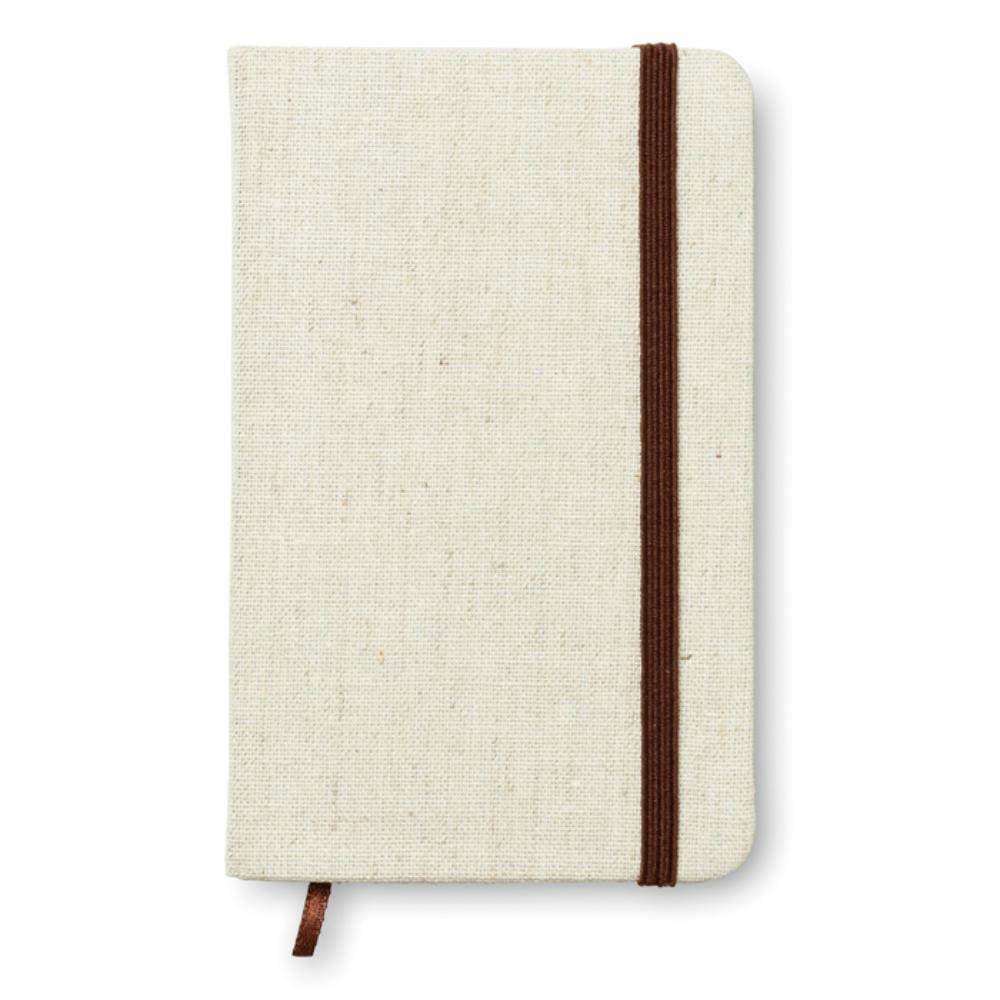 cuaderno a tapa canvas