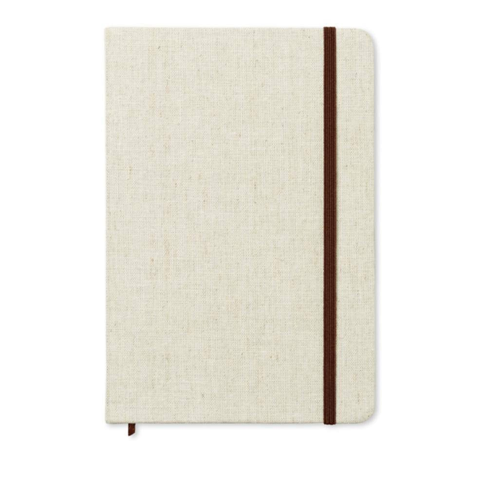 cuaderno a tapa canvas