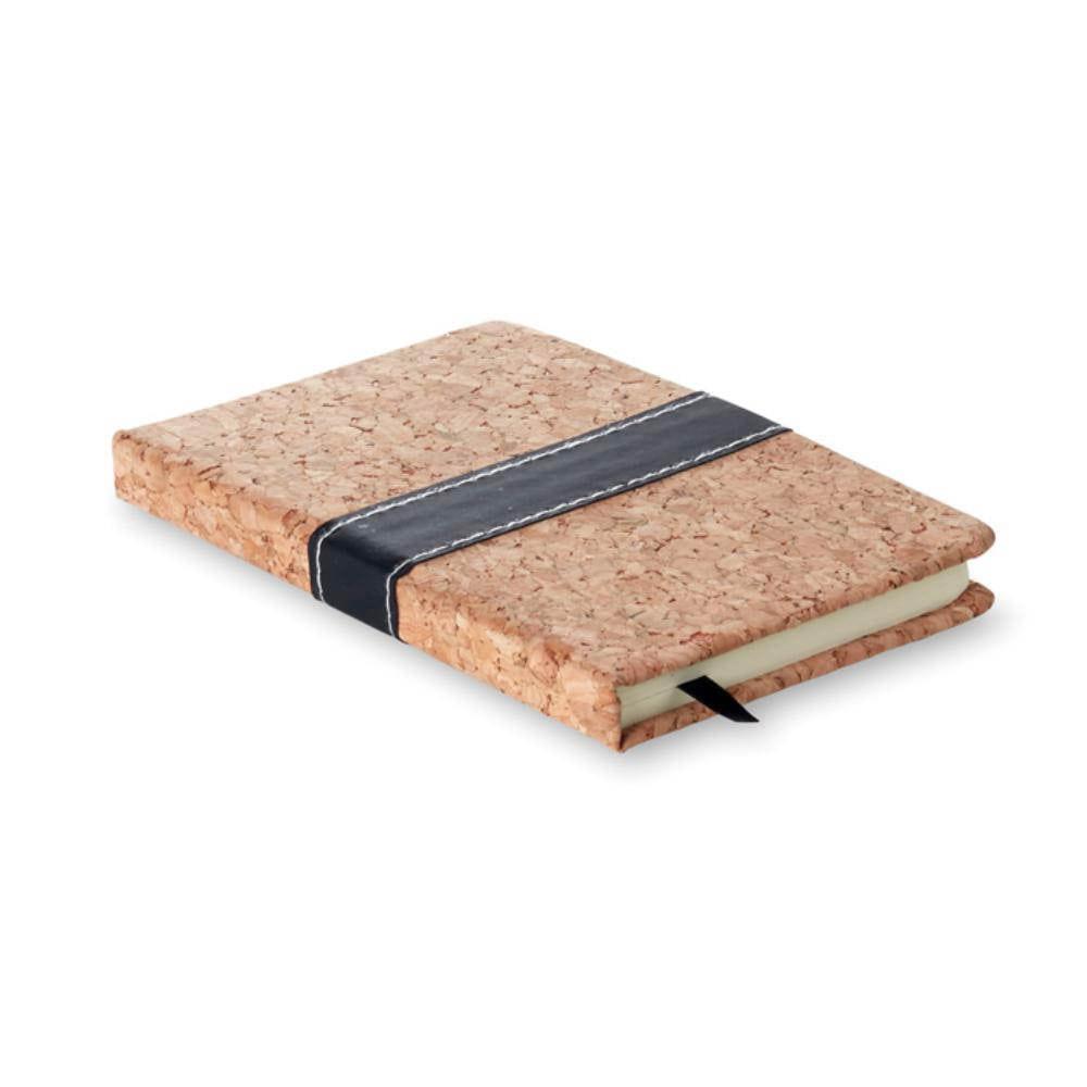 cuaderno a tapa corcho