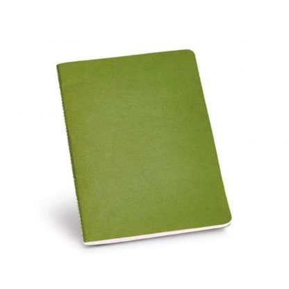 cuaderno bloc notas color carton reciclado