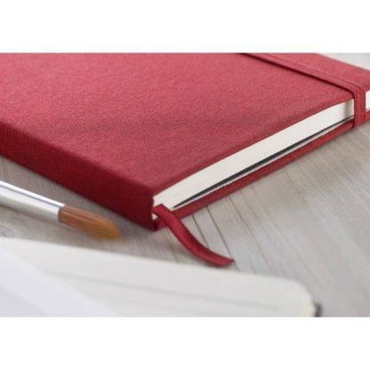 cuaderno libreta poliester cierre goma