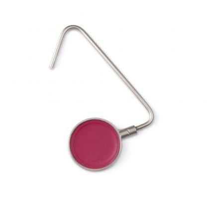 cuelga bolsos metal polipiel colores