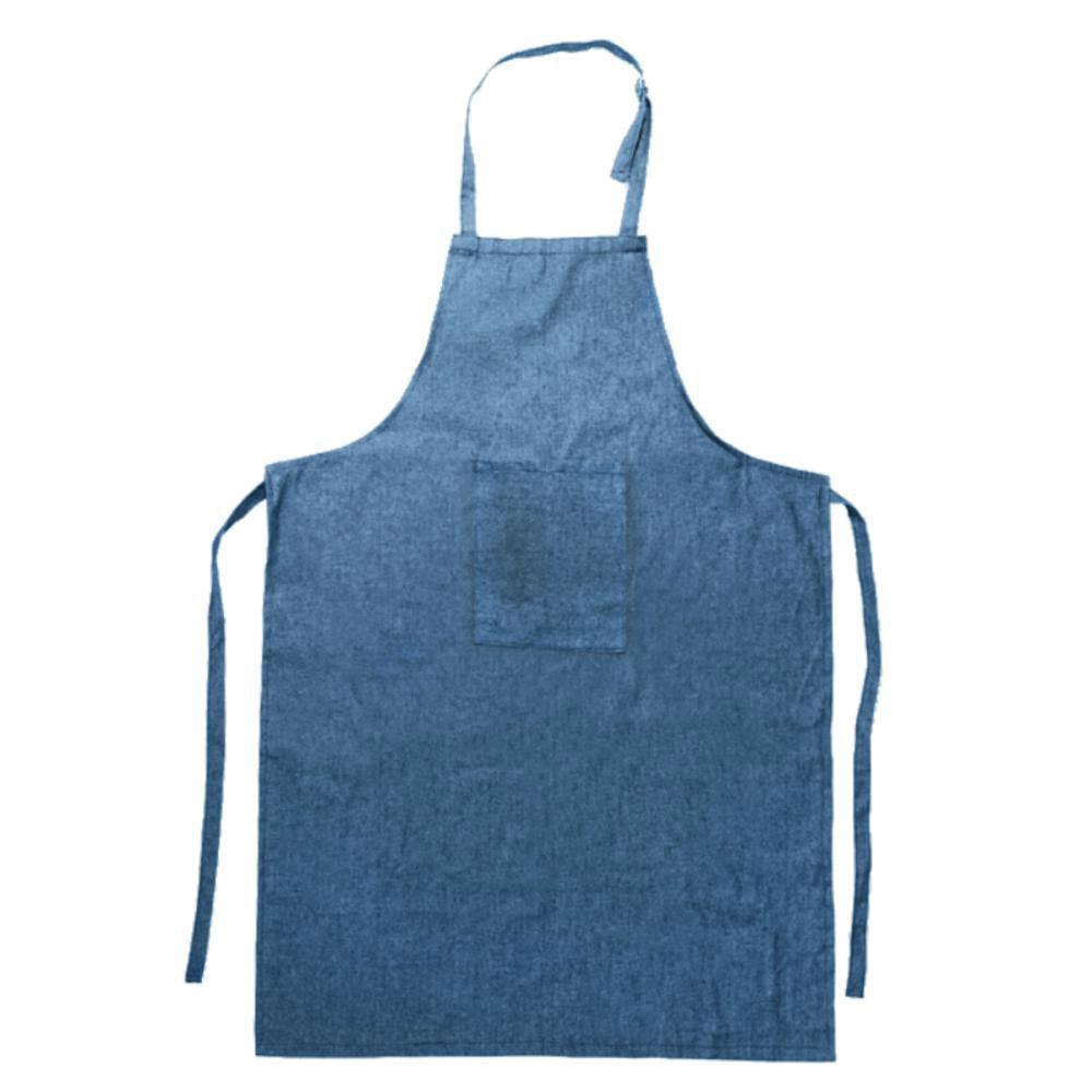 delantal cocina acabado vaquero bolsillo