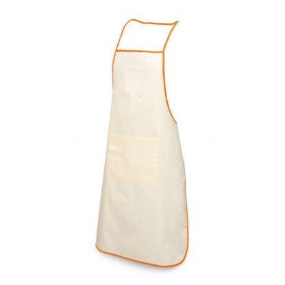 delantal cocina algodon bolsillo