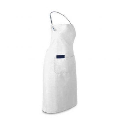 delantal cocina algodon bolsillos colores