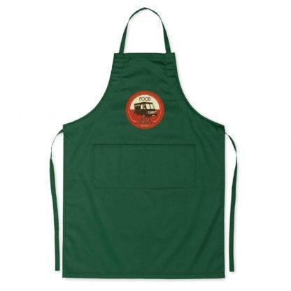 delantal cocina chef dos bolsillos colores