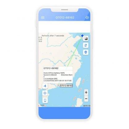 dispositivo gps localizacion tamano tarjeta