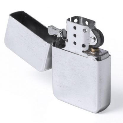 encendedor metal recargable acabado mate