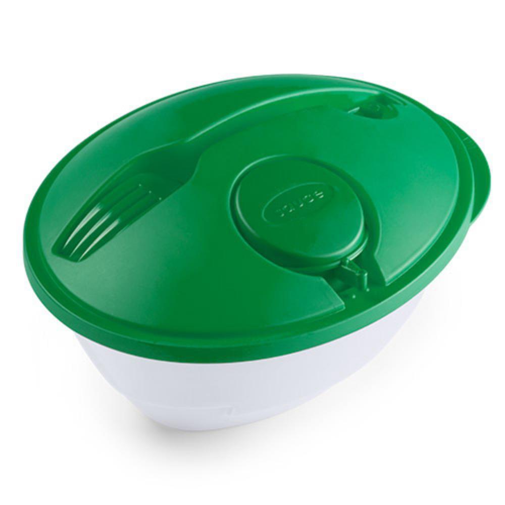 ensaladera tupper ml plastico rojo verde azul