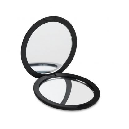 espejo circular doble acabado goma aumento