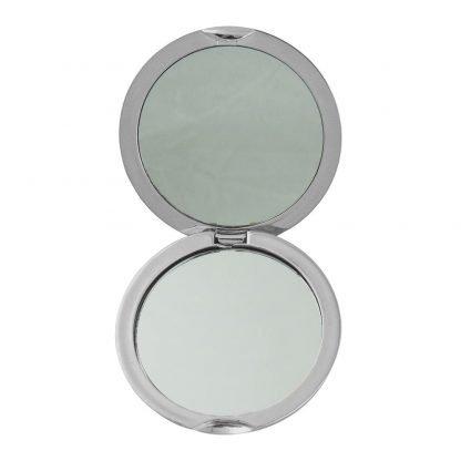 espejo doble acabado metalizado
