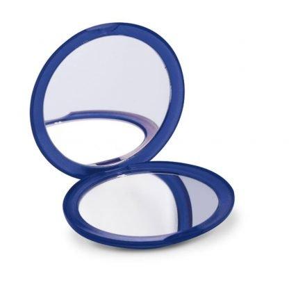 espejo doble redondo colores transparentes