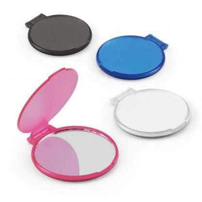 espejo maquillaje sencillo rosa negro azul blanco