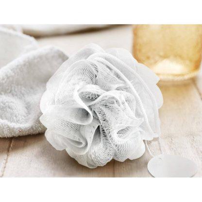 esponja ducha bano