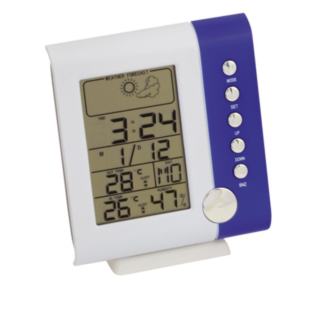 estacion meteorologica sensor interior exterior