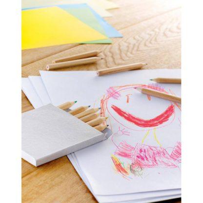 estuche carton lapiceros colores