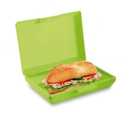 fiambrera tupper plastico basica azul verde naranja