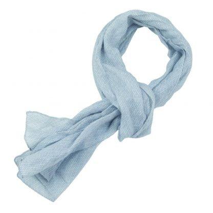 foulard algodon estampado circulos publicitario