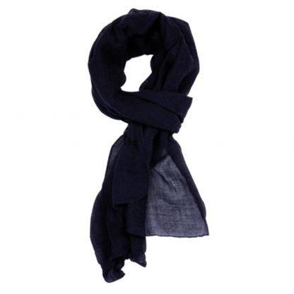 foulard panuelo poliester rojo azul negro