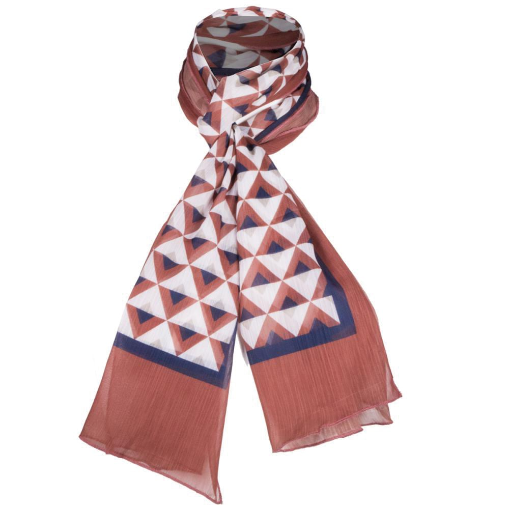 foulard poliester chiffon economico
