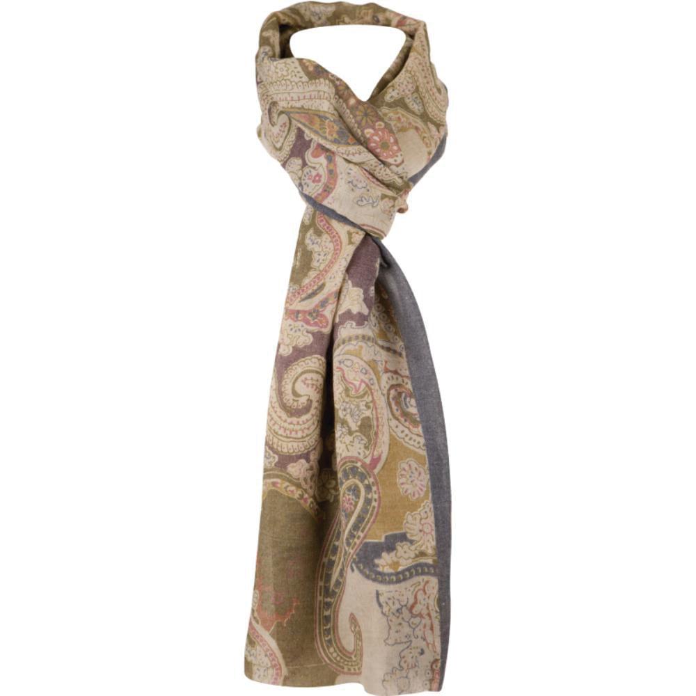 foulard precioso estampado cachemire agradable