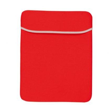 funda ordenador neopreno negro rojo azul