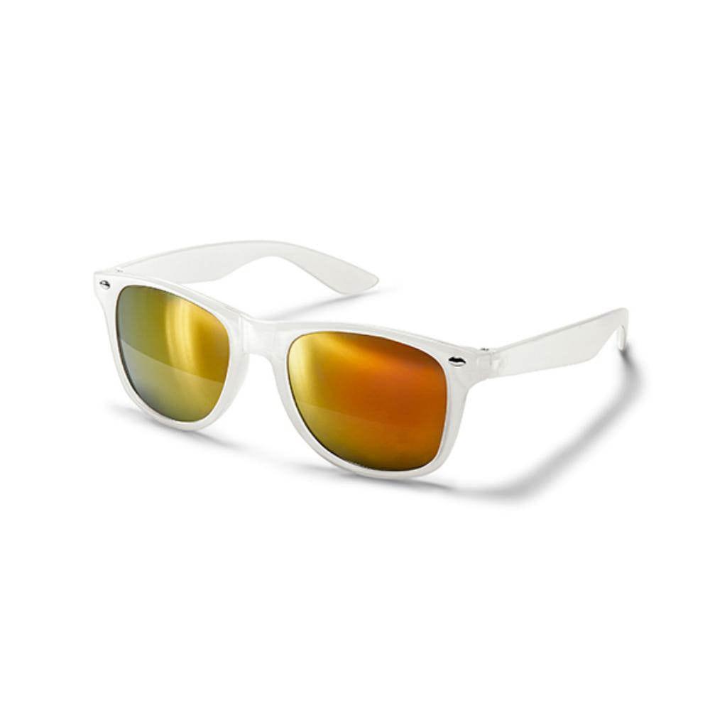 gafas sol lentes espejo blanca