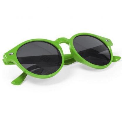 gafas sol redondas roja negra verde roja