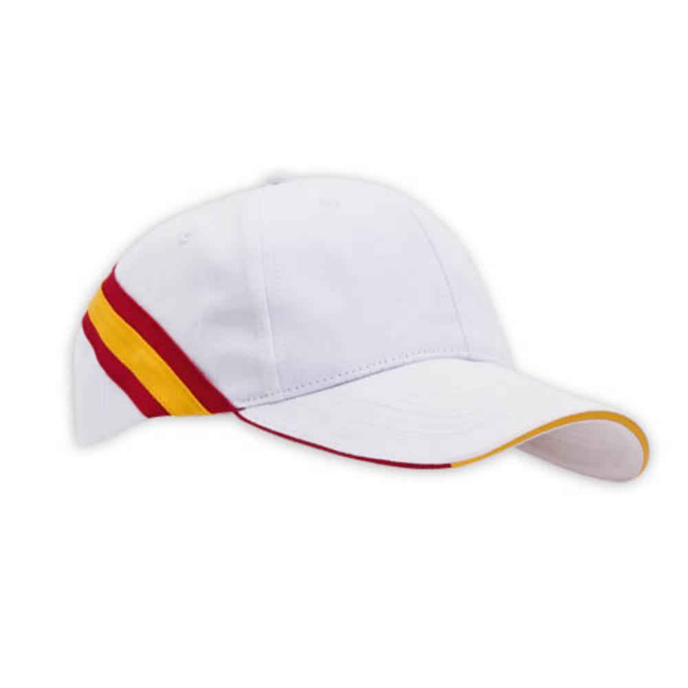 gorra bandera espana paneles azul blanco