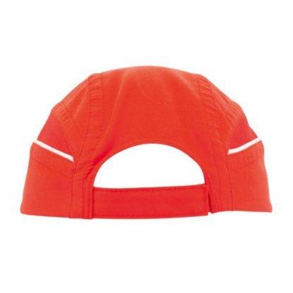 gorra microfibra ligera roja azul negra