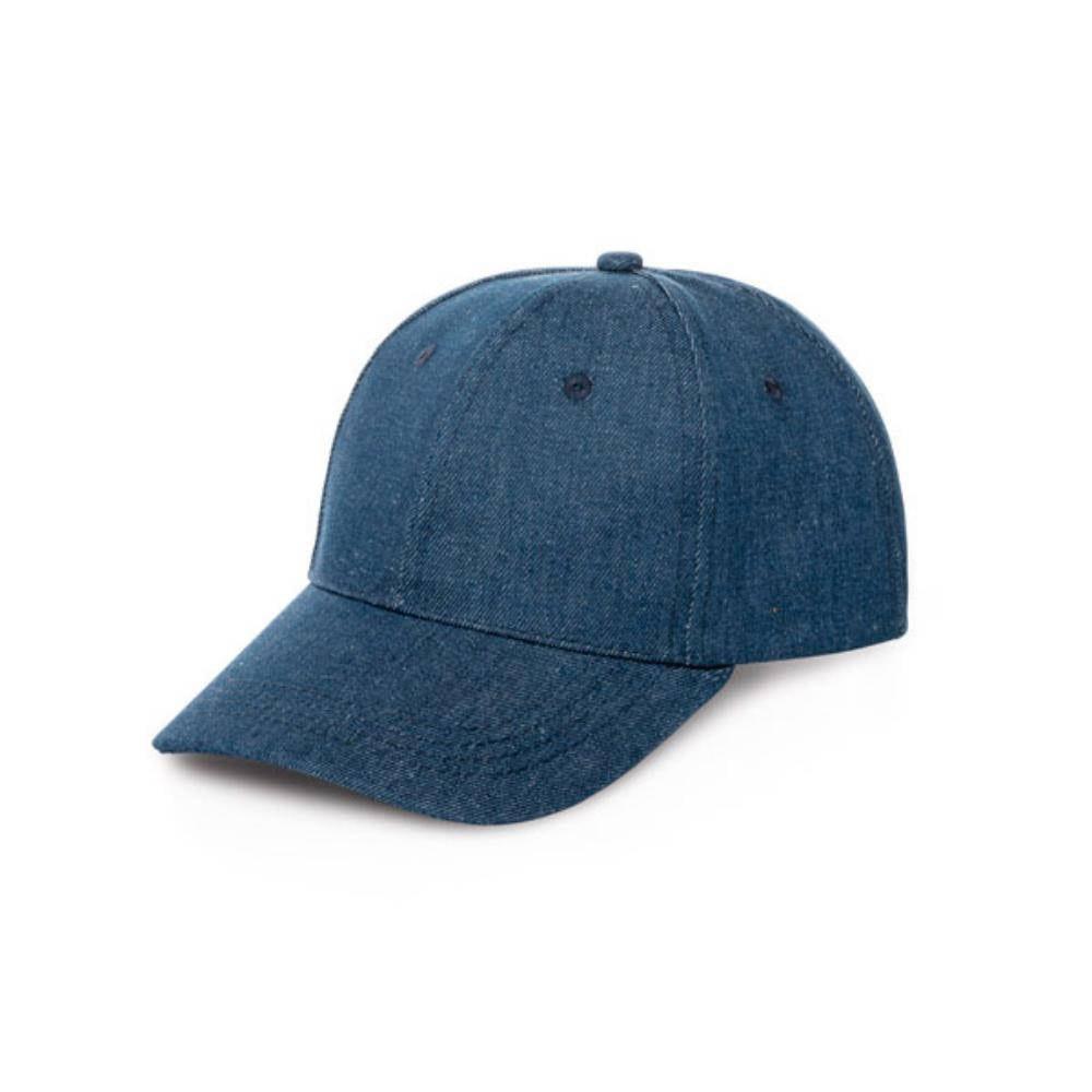 gorra vaquera tejana diseno paneles azul