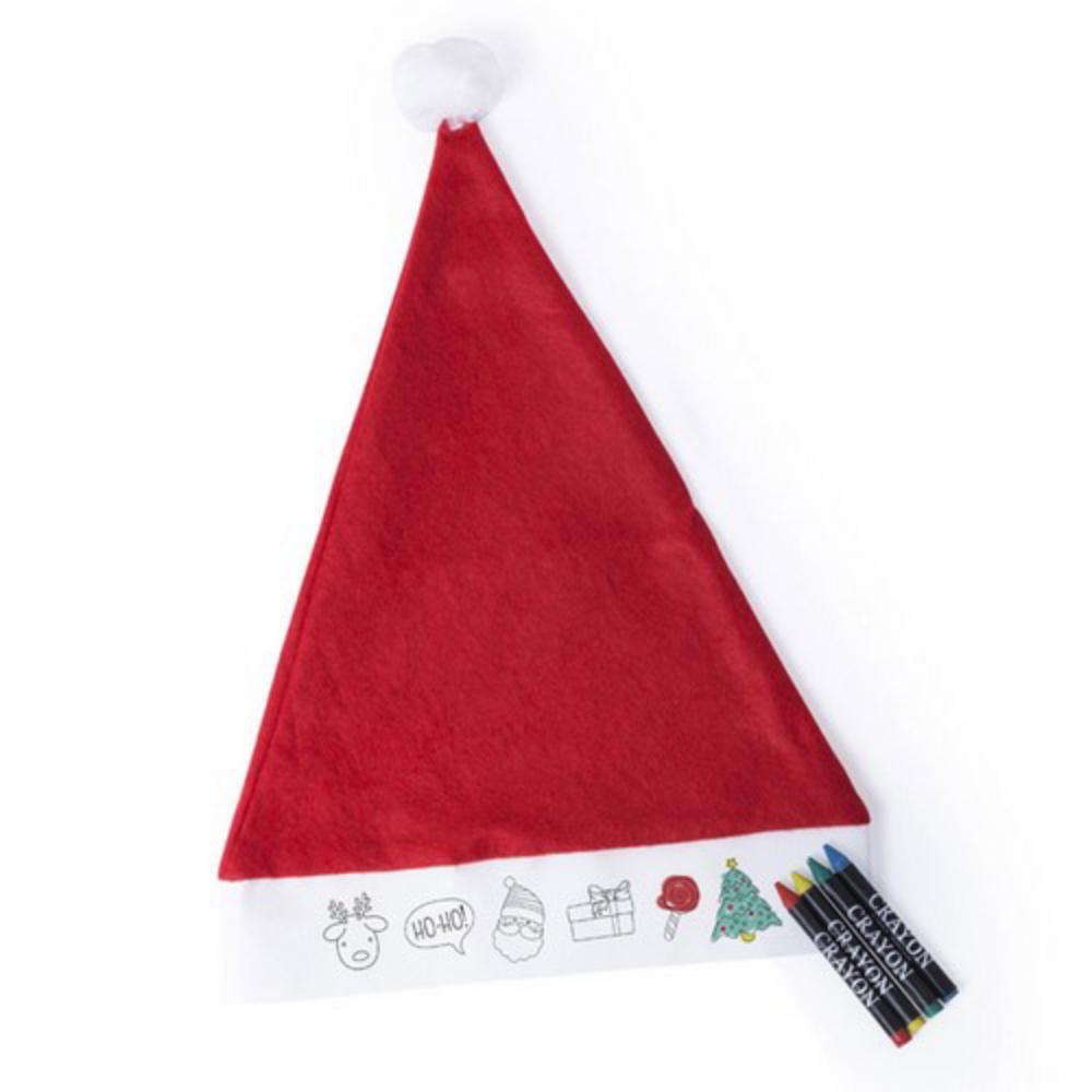 gorro nino navidad rojo papa noel