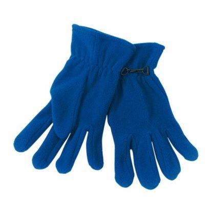 guantes forro polar anti pilling naranja azul rojo