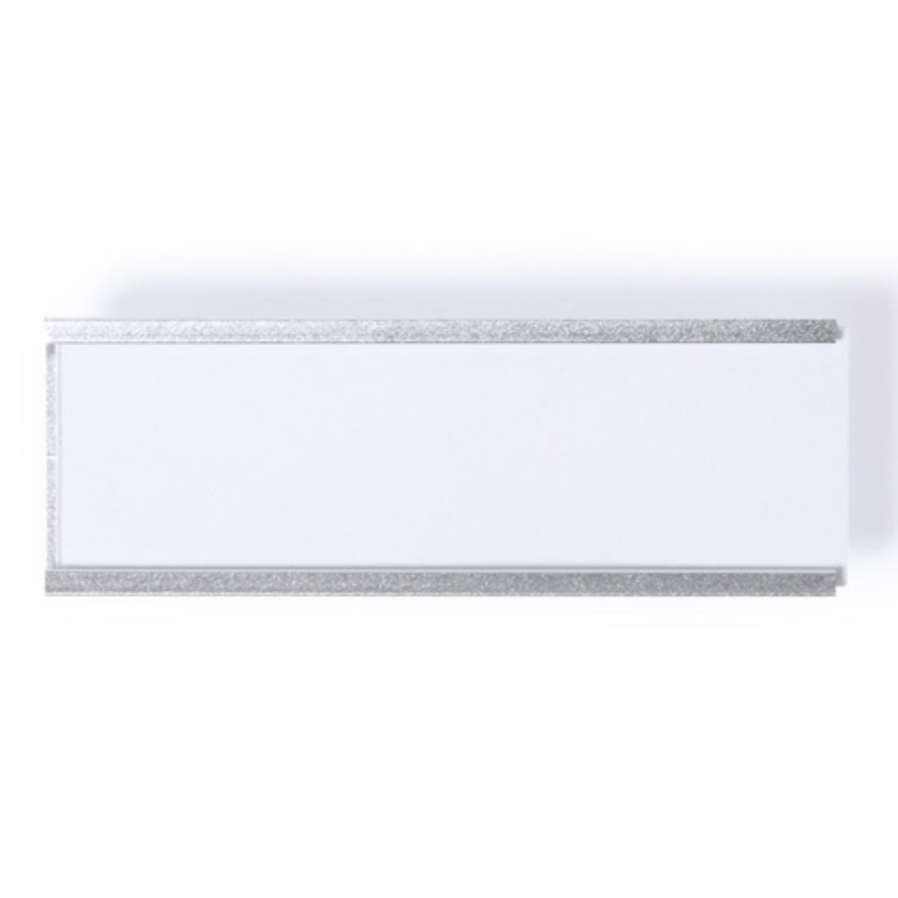 identificador aluminio alfiler placa