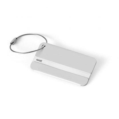 identificador aluminio maletas viaje