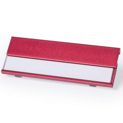 identificador aluminio rojo verde rosa azul