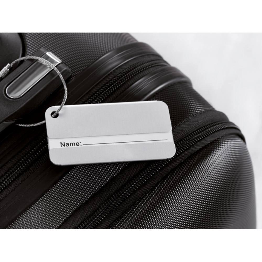 identificador maletas aluminio viajes